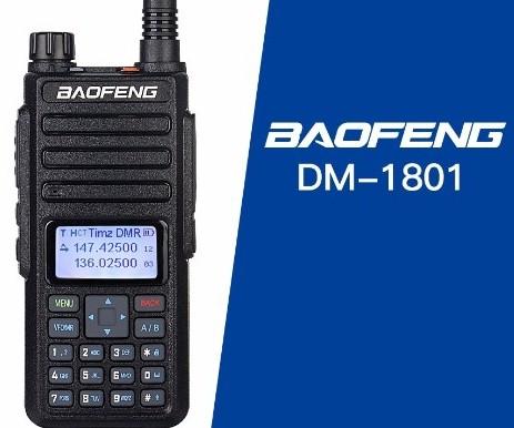 Timz DMR Codeplug Download Baofeng1801